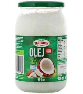 Targroch Olej kokosowy nierafinowany (900 ml)