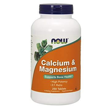 NOW Calcium & Magnesium 250 TABS