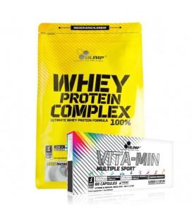 Olimp Whey Protein Complex 100% 700g + Olimp Vita-Min Multiple Sport 60kap