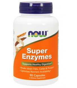 NOW FOODS SUPER ENZYME CAPS 90 CAPS