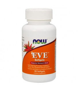 NOW FOODS EVE WOMAN'S MULTI 90 SGELS
