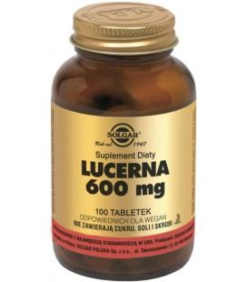 Solgar Lucerna 600mg 100 tabletek