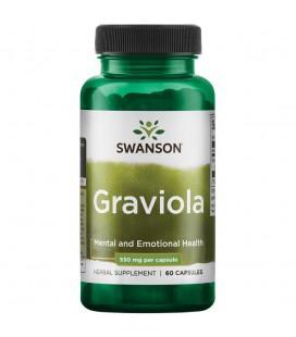 Swanson Graviola 530mg 60caps