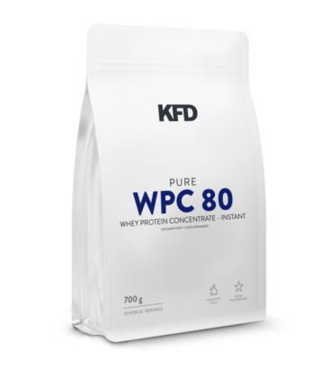 KFD Pure WPC 80 Instant - 700 g (białko serwatkowe, naturalne)