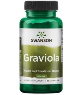 Swanson Graviola 600mg 60Caps