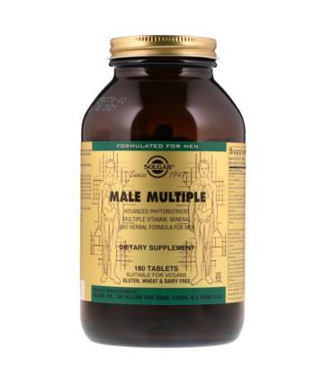 Solgar Male Multiple 180 tabletek