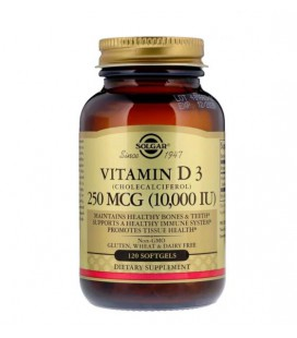 Solgar Vitamin D3 (Cholecalciferol) 10000IU 120sof