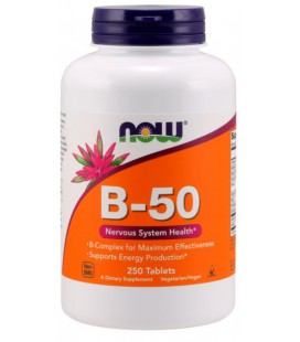 NOW FOODS B-50 250 TABS