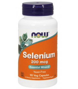NOW FOODS SELENIUM 200mcg 90 VCAPS