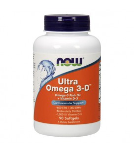 NOW FOODS ULTRA OMEGA 3-D 90SOFTGELS