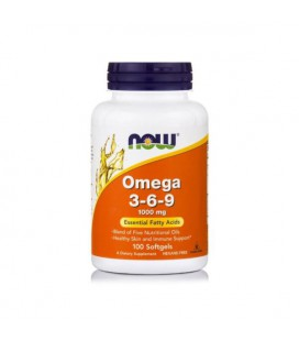 NOW FOODS OMEGA 3-6-9 1000MG 100 softgel
