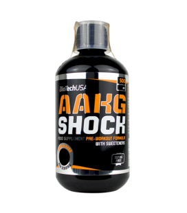 BioTech AAKG Shock Extreme 500ml