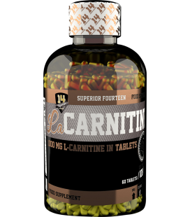 Superior L-carnitine 1000mg 60tab.