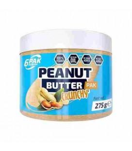 6PAK Peanut Butter PAK 275g Crunchy