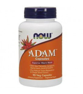 NOW FOODS ADAM MALE MULTI 90 VCAPS
