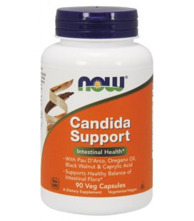 NOW FOODS CANDIDA SUPPORT 90 VCAPS