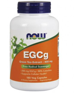 NOW FOODS EGCG 400MG 50% 180 VCAPS