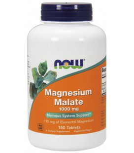 NOW FOODS MAGNESIUM MALATE 1000mg 180 TABS