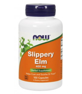 NOW FOODS SLIPPERY ELM 400mg 100 CAPS