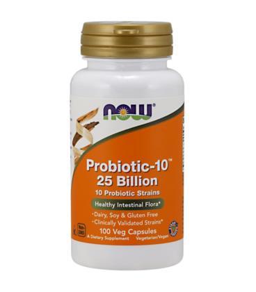 NOW PROBIOTIC-10 25 BILLION 100 vcaps