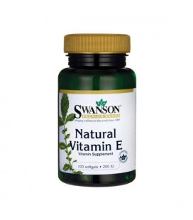 Swanson Natural Vitamin E 200IU 100softgels