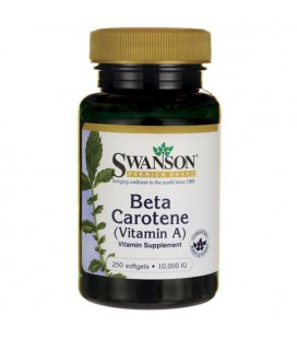 Swanson Beta Carotene (Vitamin A) 10,000 IU 250softgels
