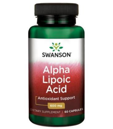 Swanson Alpha Lipoic Acid 600mg 60 caps