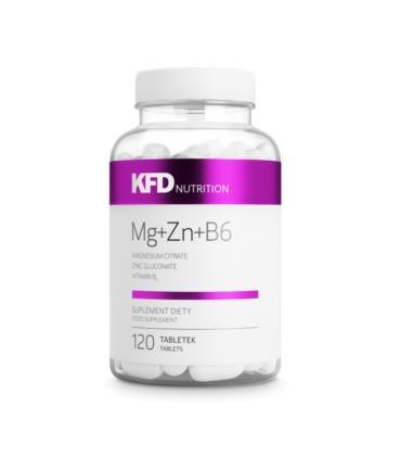 KFD Mg+Zn+B6 ZMA 120 tabletek