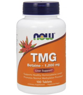 NOW FOODS TMG 1000MG TABS 100 TABS