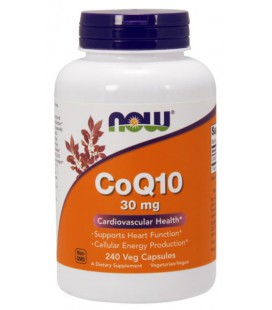 NOW FOODS CoQ10 30mg 240 VCAPS