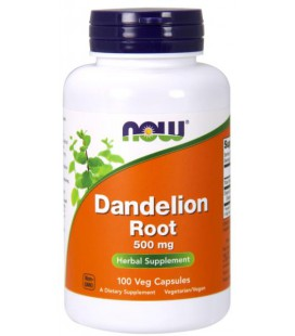 NOW FOODS DANDELION ROOT 500mg 100 VCAPS