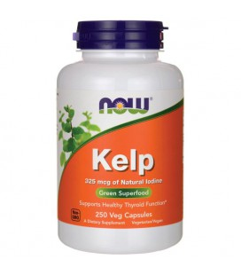 NOW FOODS KELP CAPS 250 VCAPS