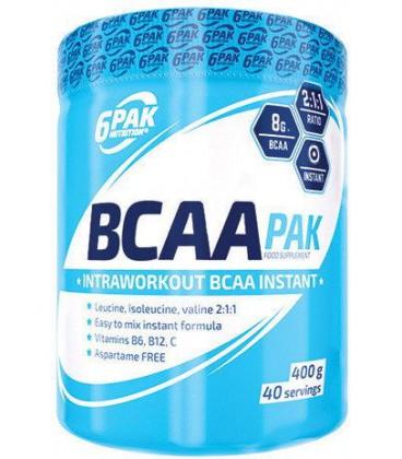 6PAK BCAA PAK 400g