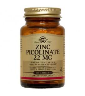 Solgar Zinc Picolinate 22mg 100 tab
