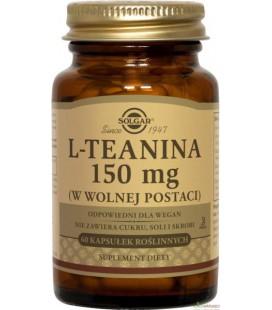Solgar L-Teanina 150mg 60 kapsułek