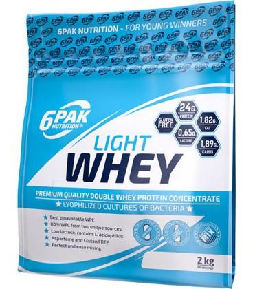 6PAK Light Whey 2000g