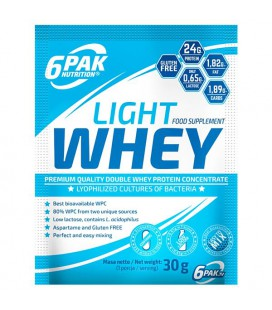 6PAK Light Whey 30g