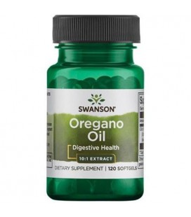Swanson Oregano Oil 10:1 Extract 150mg 120softgels