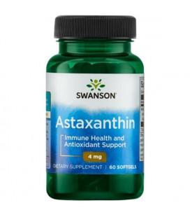 Swanson Astaxanthin Astaksantyna 4mg 60 kaps.