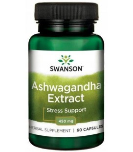 Swanson Ashwagandha Extract 450mg 60kaps