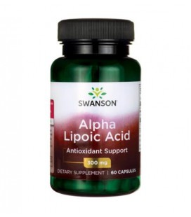Swanson Alpha Lipoic Acid 300mg 60 caps