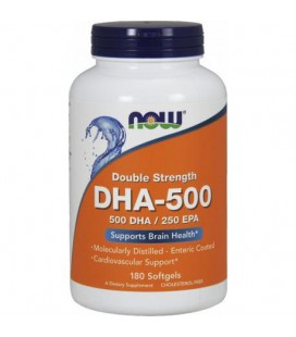 NOW FOODS DHA-500 / EPA 250 180 softgels