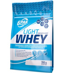 6PAK Light Whey Probiotics 700g