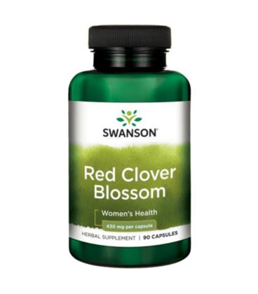 Swanson Red Clover Blossom 430mg 90caps
