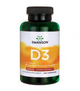 Swanson Vitamin D-3 2000IU 250caps