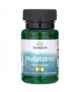 Swanson Melatonina 3mg 120 caps