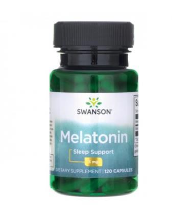 Swanson Melatonina 3mg 120 caps
