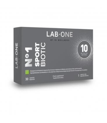 Lab One SportBiotic 30kapsułek