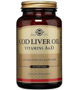Solgar Tran Dorszowy Cod Liver Oil 250 kapsułek