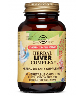 Solgar Herbal Liver Complex 50VCaps
